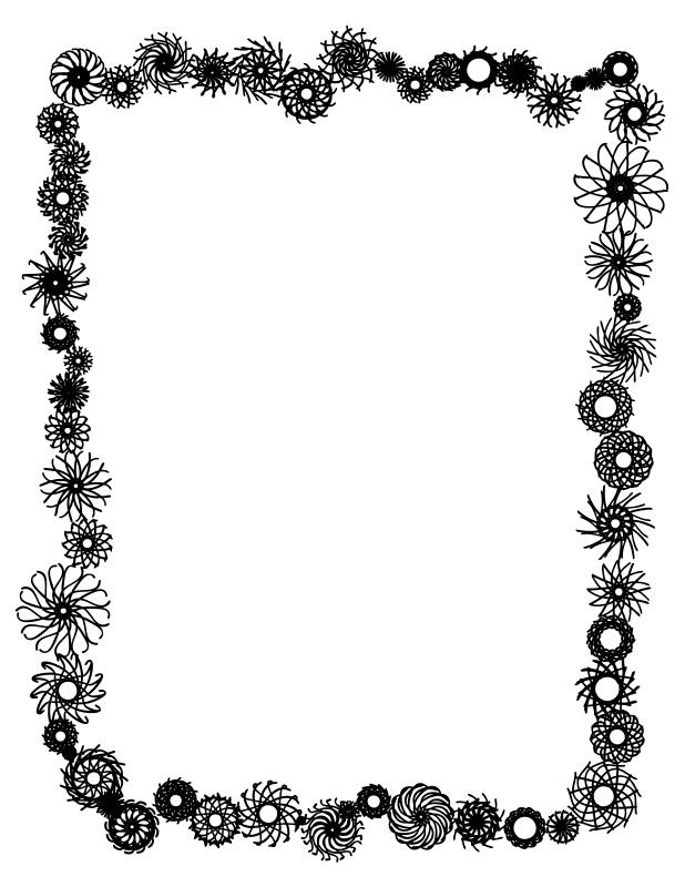 نقاشی حاشیه گل کودک امروز http://hossein67jahad.blogfa.com